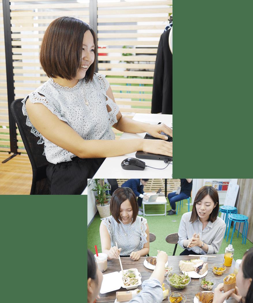 メンバー紹介(Y) 一日のスケジュール